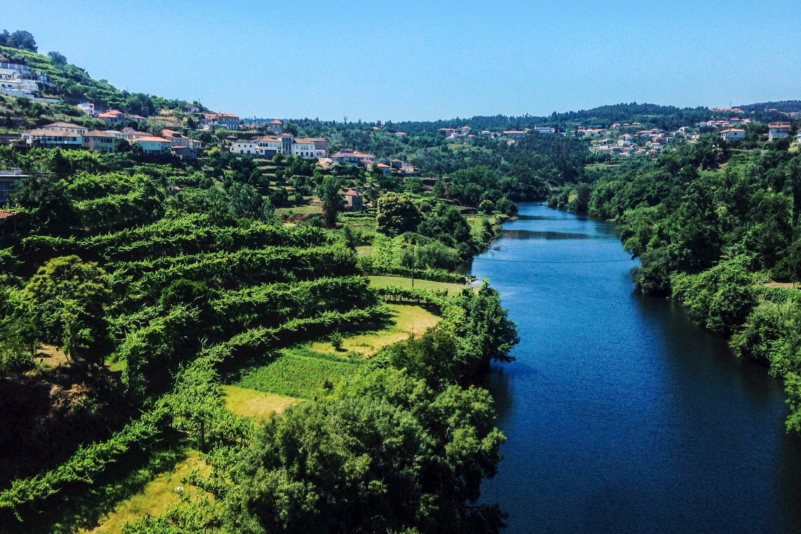 Douro Rover Valley, wine country