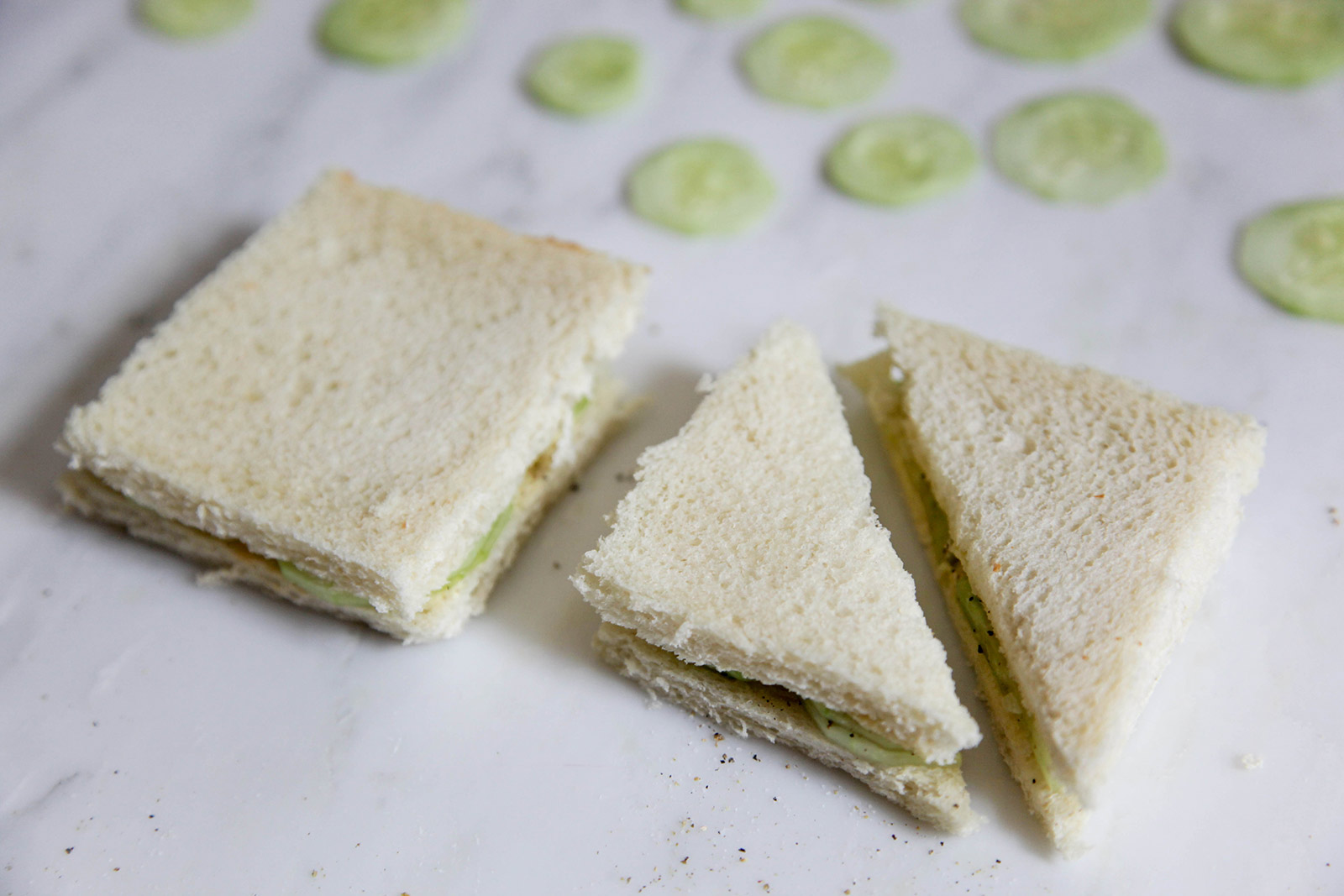 Cucumber Sandwiches for Picnics