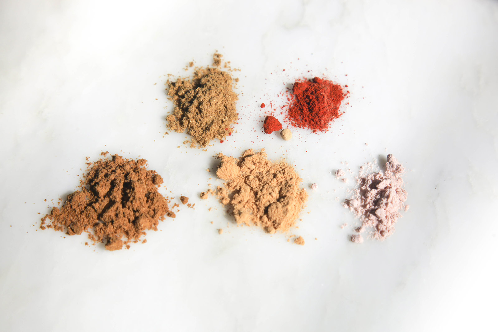Powdered spices for Crispy Spiced Fried Okra Snack
