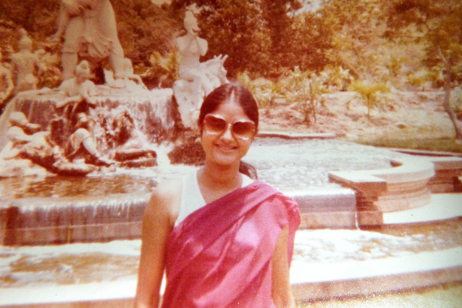 My mom, when I was young