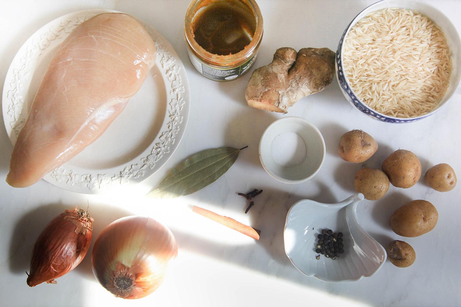 ingredients for pish pash