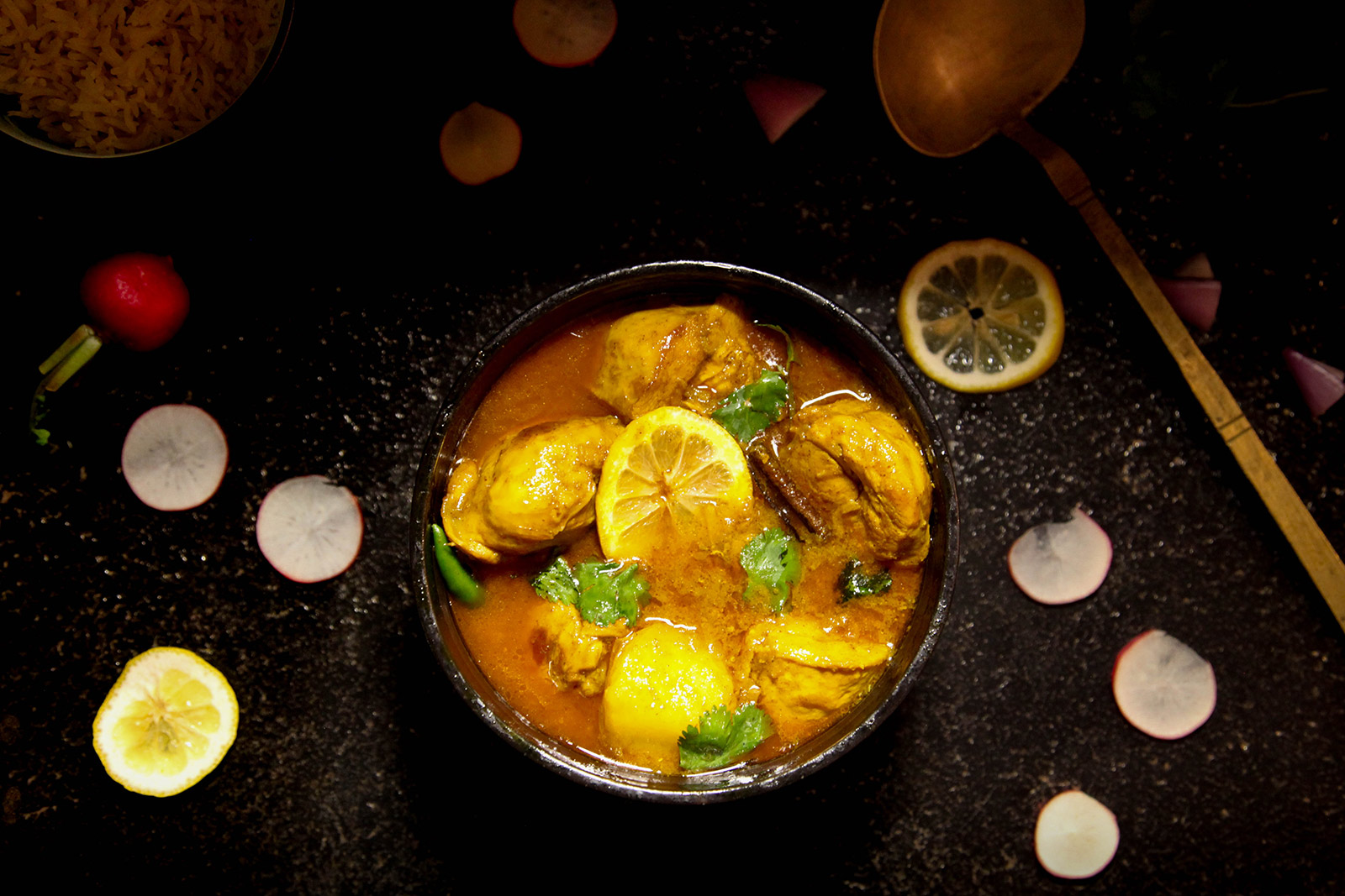 Simple homestyle Bangladeshi chicken curry