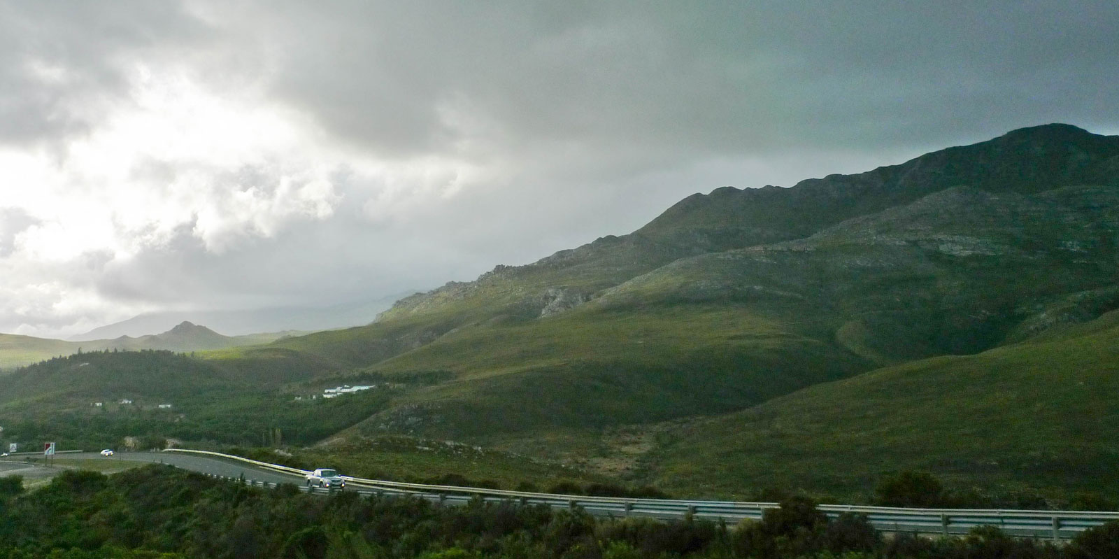 Driving around the cape, near Cape Town, South Africa